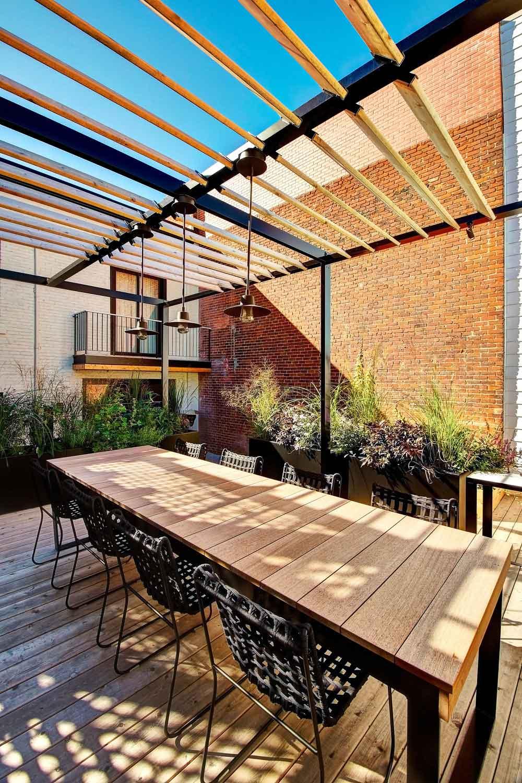 Spacious 4 Level Back Deck Patio Design In Montr 233 Al Canada