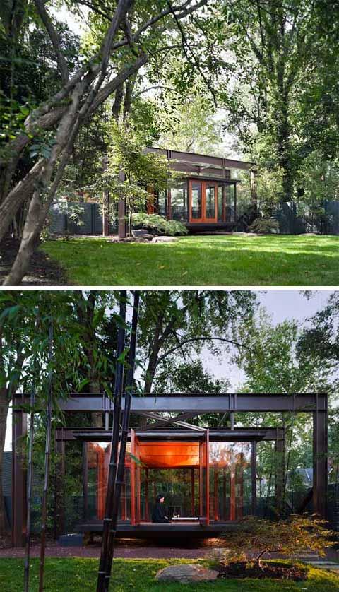 Backyard Tea House