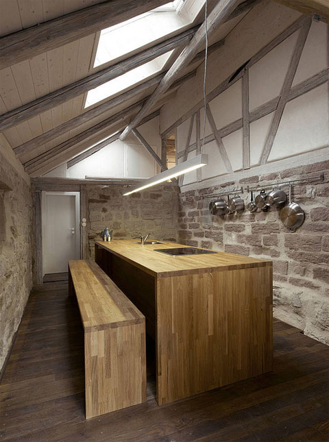 atelier s 17th century barn conversion modern architecture. Black Bedroom Furniture Sets. Home Design Ideas