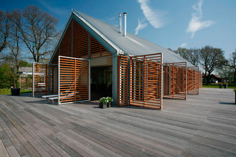 barn house ka 21 - A barn in the countryside: the essence of ancient forms