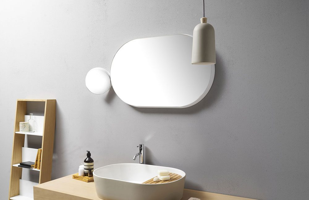 Modern And Playful Design Of Bathroom Mirrors - Float & Gravity