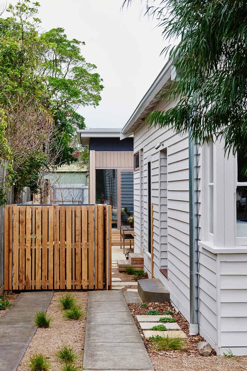 beach cottage extension design side ima - Not So Shabby Shack