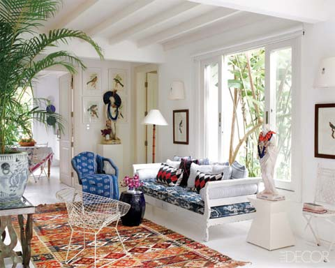 Beach house decor brazilian design beautiful interiors for Small beach house decorating ideas