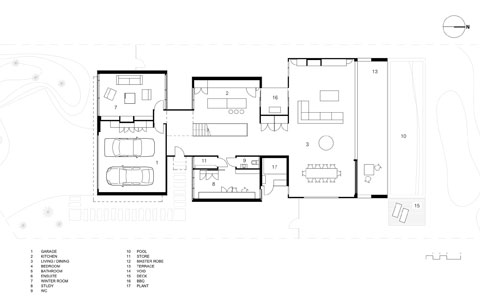 Torquay house on the beach coastal homes Beach house floor plans australia