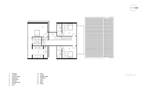 Waterfront house plans australia home design and style Beach house floor plans australia