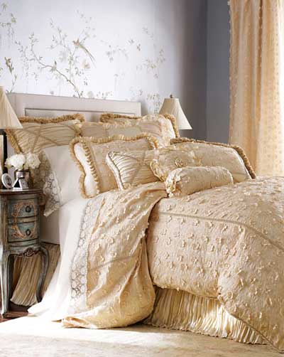 bed linens dian austin - Petals & Posies Bed Linens: Sleep-in Beauty