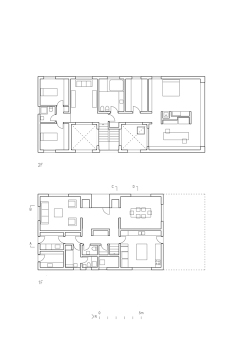 Pael house four pitched roofs one detached house for Zeb pilot house floor plan