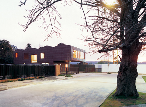 Pael House: four pitched roofs = one detached house