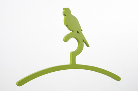 bird clothes hangers2 - Bird Clothes Hangers That Will Chirp You Up