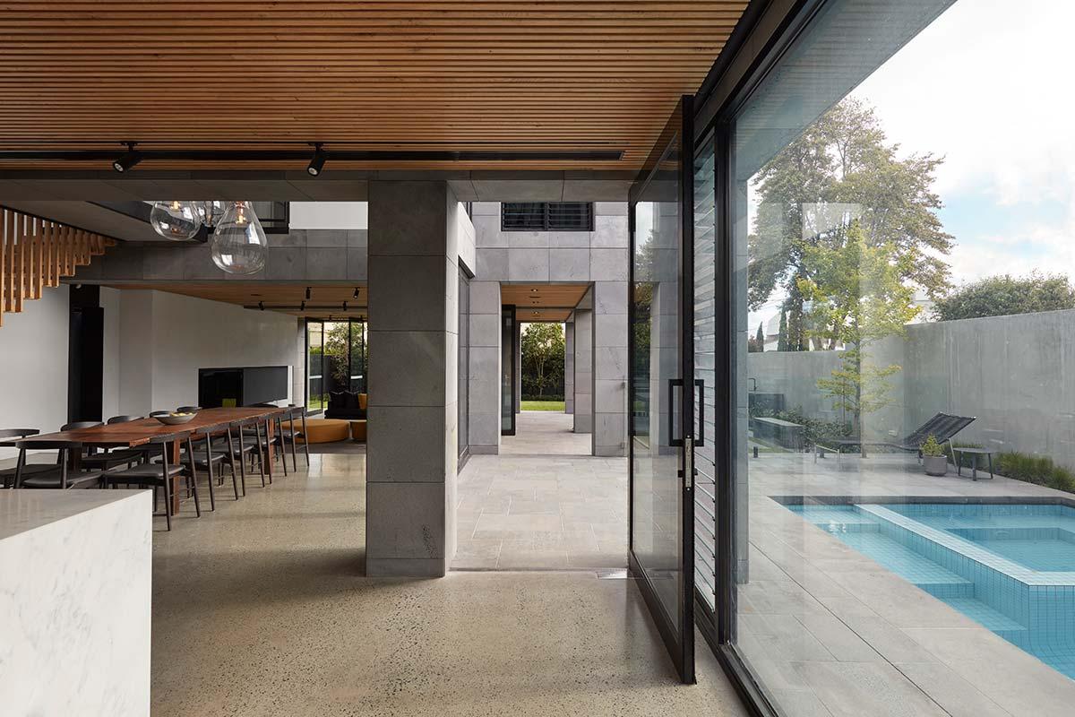 bluestone home design entry - The Quarry House