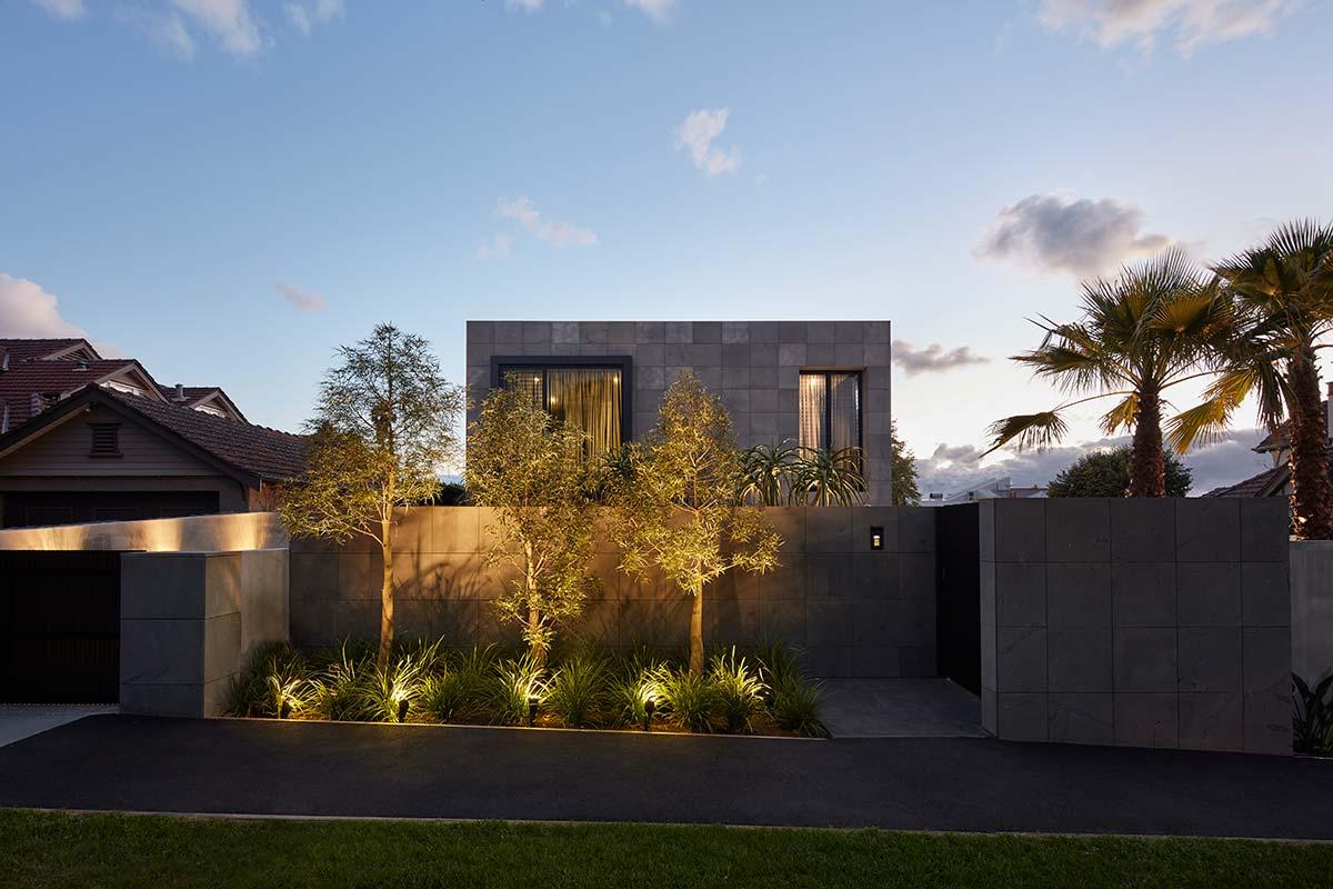 bluestone home design facade - The Quarry House
