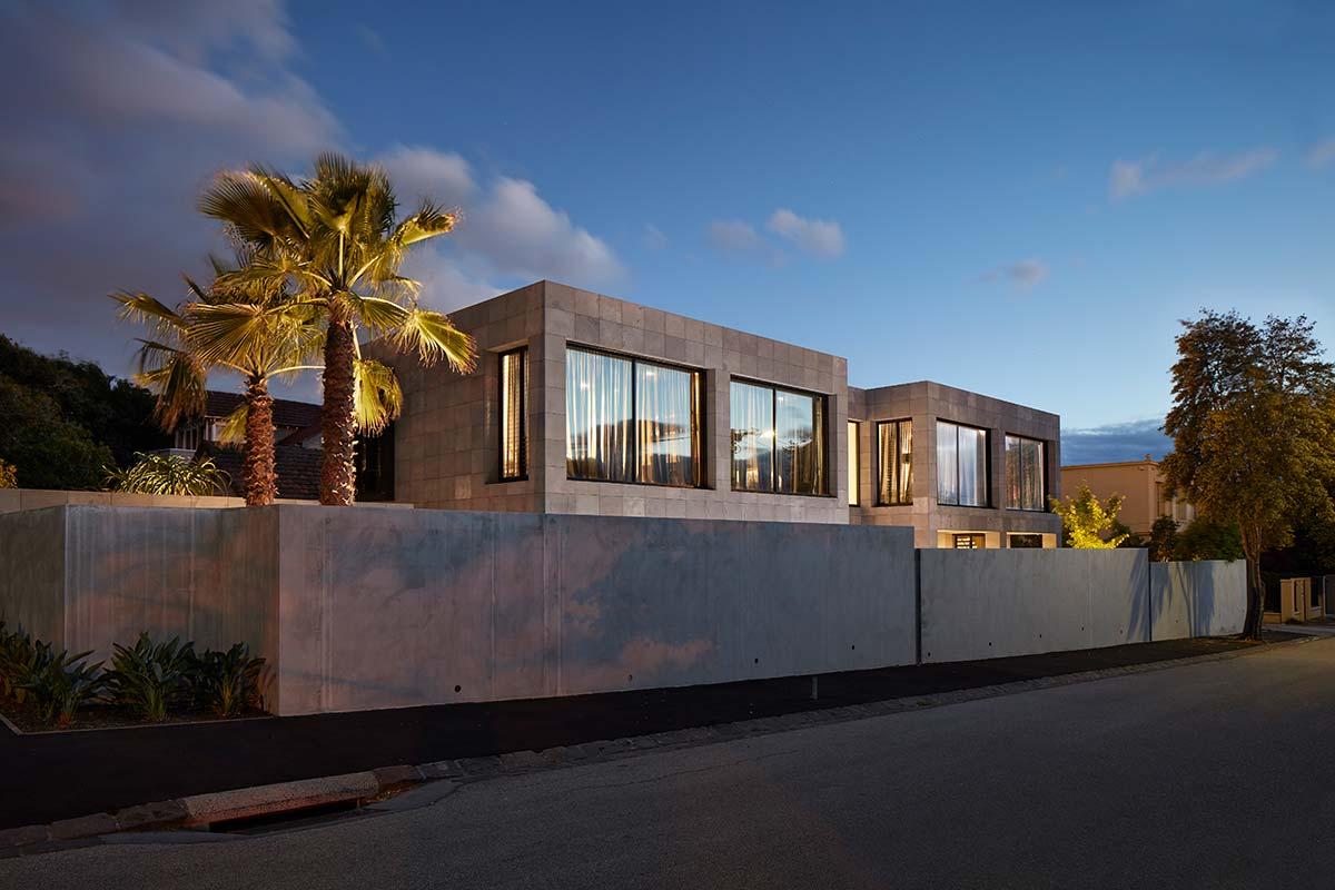 bluestone home design side - The Quarry House