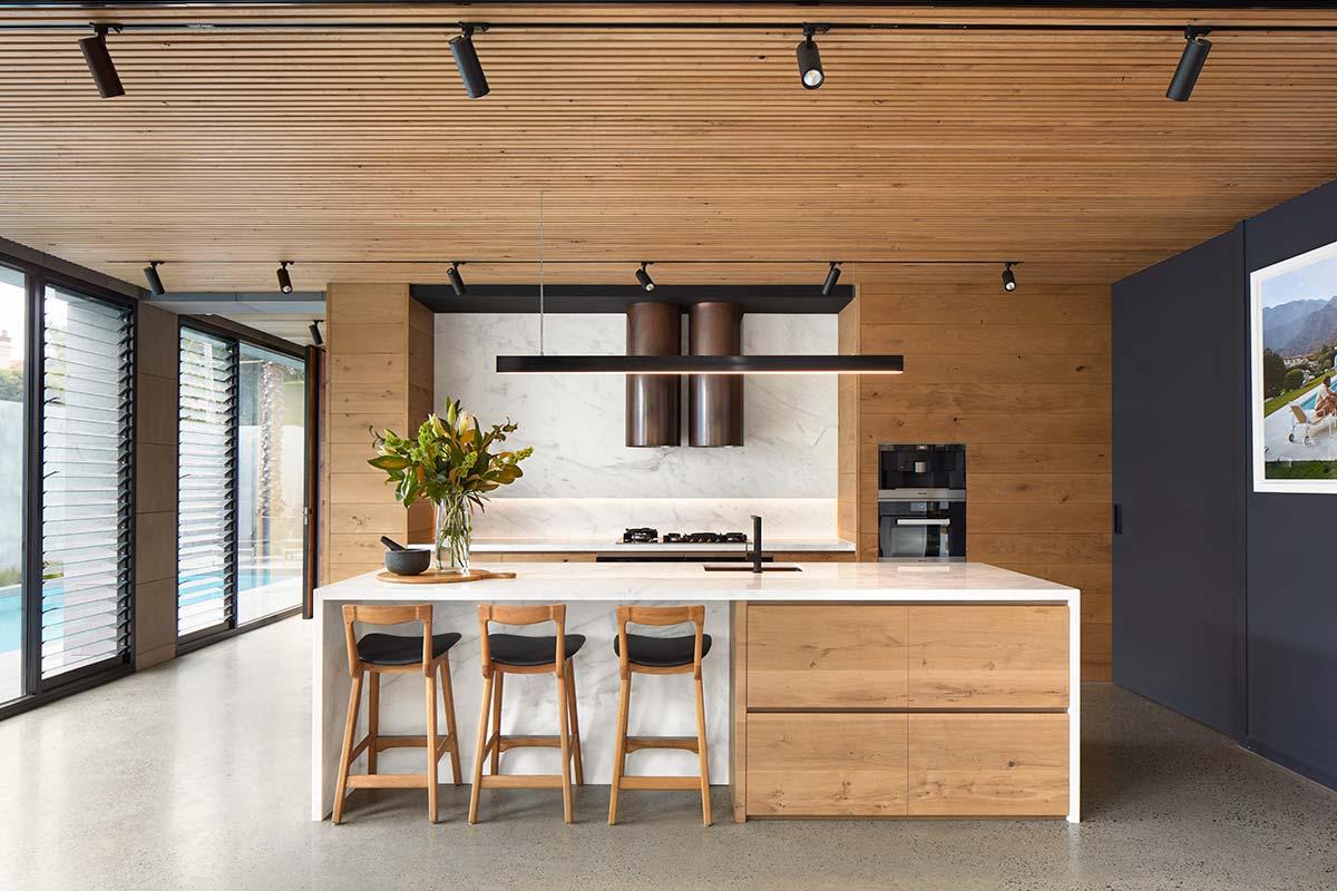 bluestone home kitchen design - The Quarry House