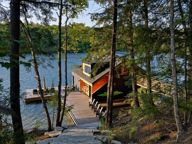 boat house lake joseph11 800x600 - Lake Joseph Boat House
