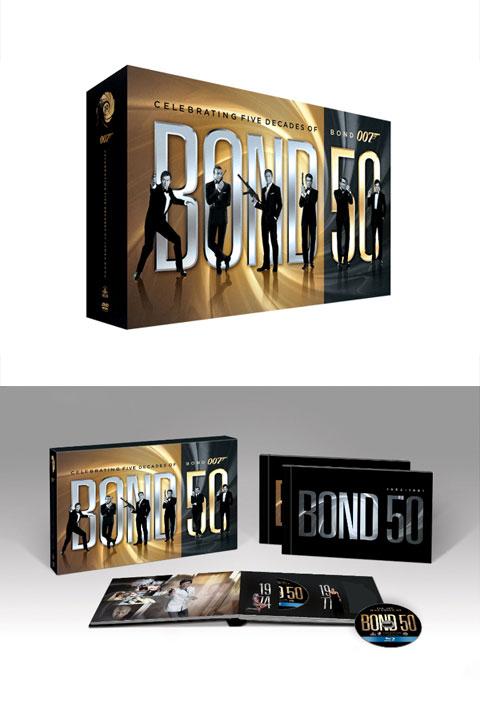 bond 007 box set - Designing 007: 50 Years of Bond Style
