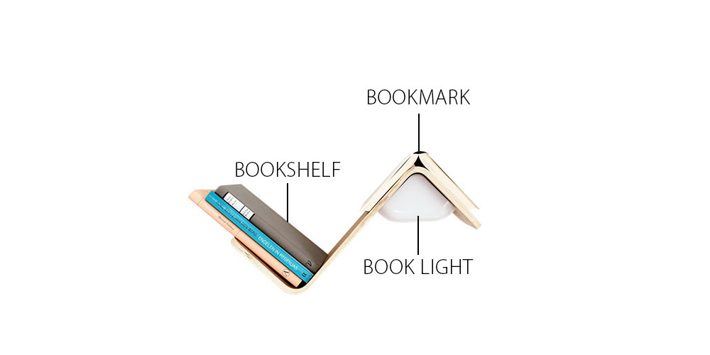 book lamp shelf lililite3 - LiliLite
