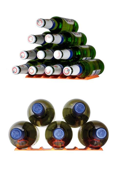 bottles storage fridge monkey 2 - Fridge Monkey: stack 'em up