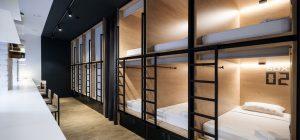 boutique capsule hotel daa6 300x140 - InBox Capsule Hotel