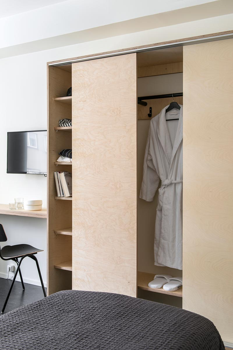 boutique hostel closet design - Hostel Jyvaskyla