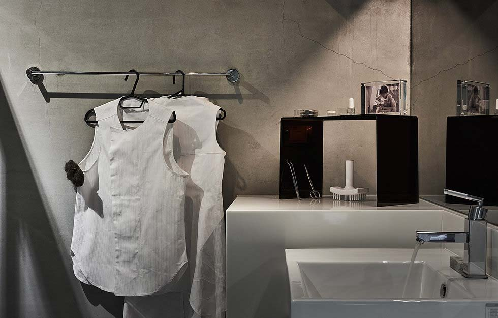 Boutique hotel bathroom design