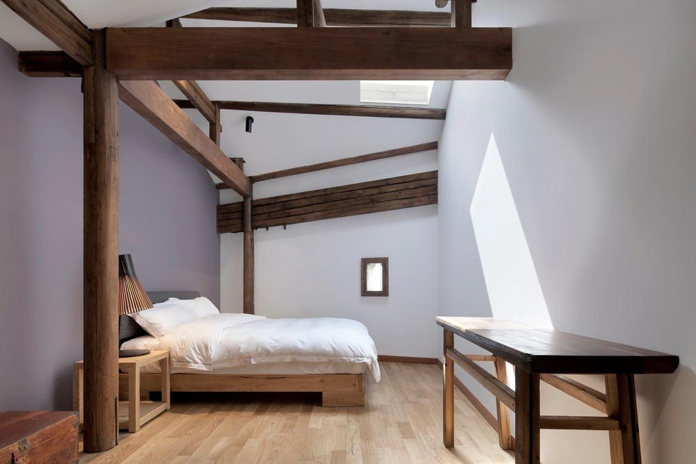 boutique hotel china skywells bedroom - Wuyuan Skywells Hotel
