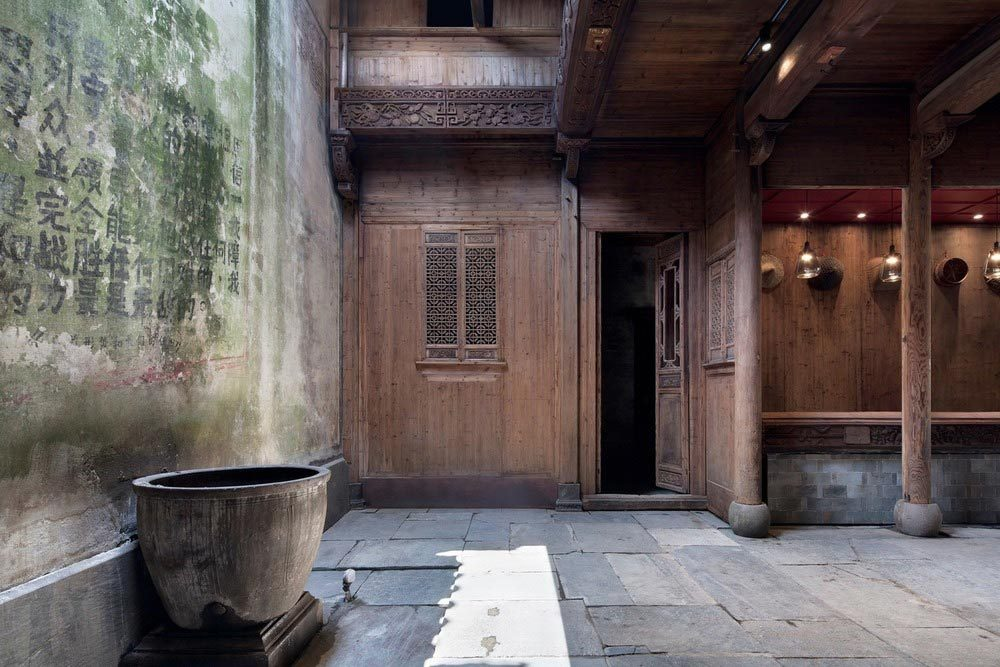 boutique hotel china skywells decor 1000x667 - Wuyuan Skywells Hotel