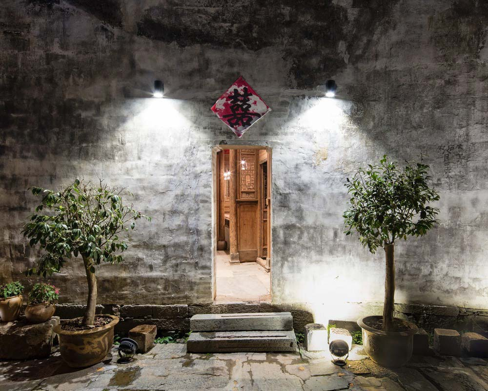 boutique hotel china skywells door - Wuyuan Skywells Hotel