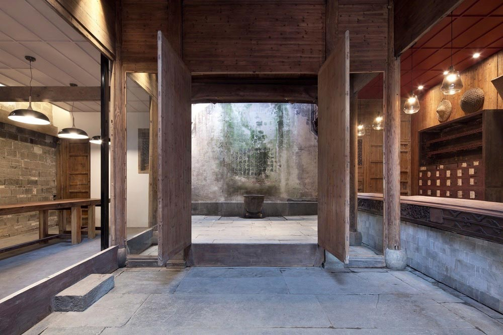boutique hotel china skywells entry - Wuyuan Skywells Hotel