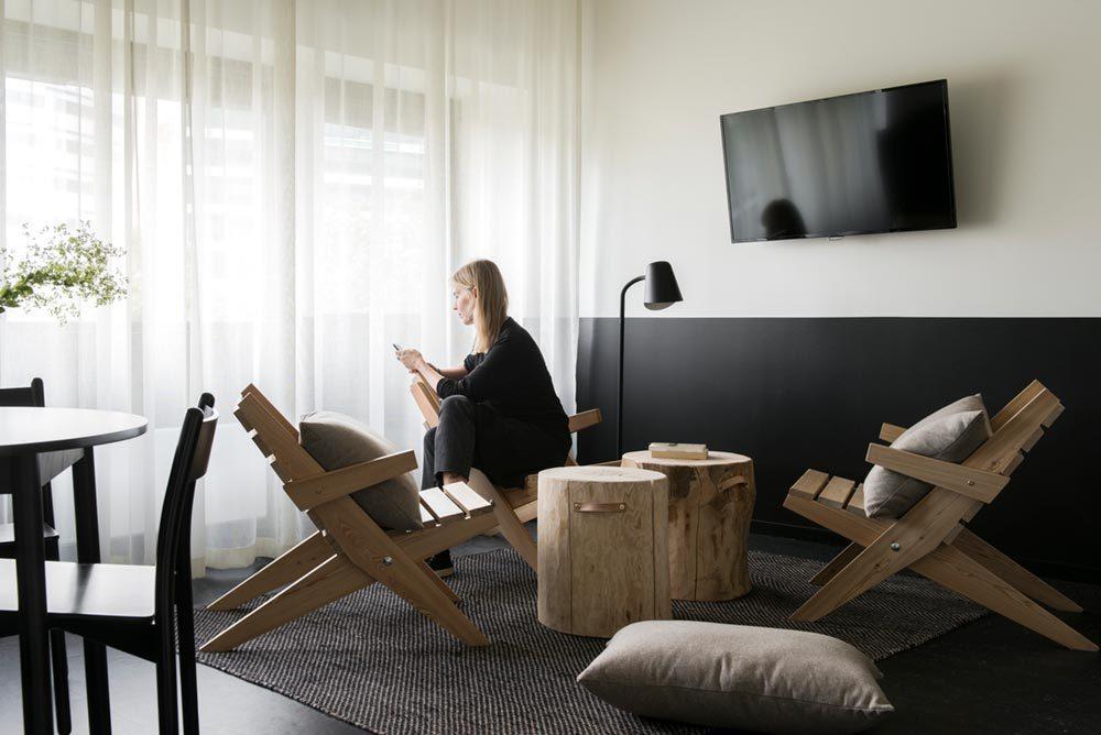boutique hotel lounge design oslo 1000x668 - Aparthotel Oslo