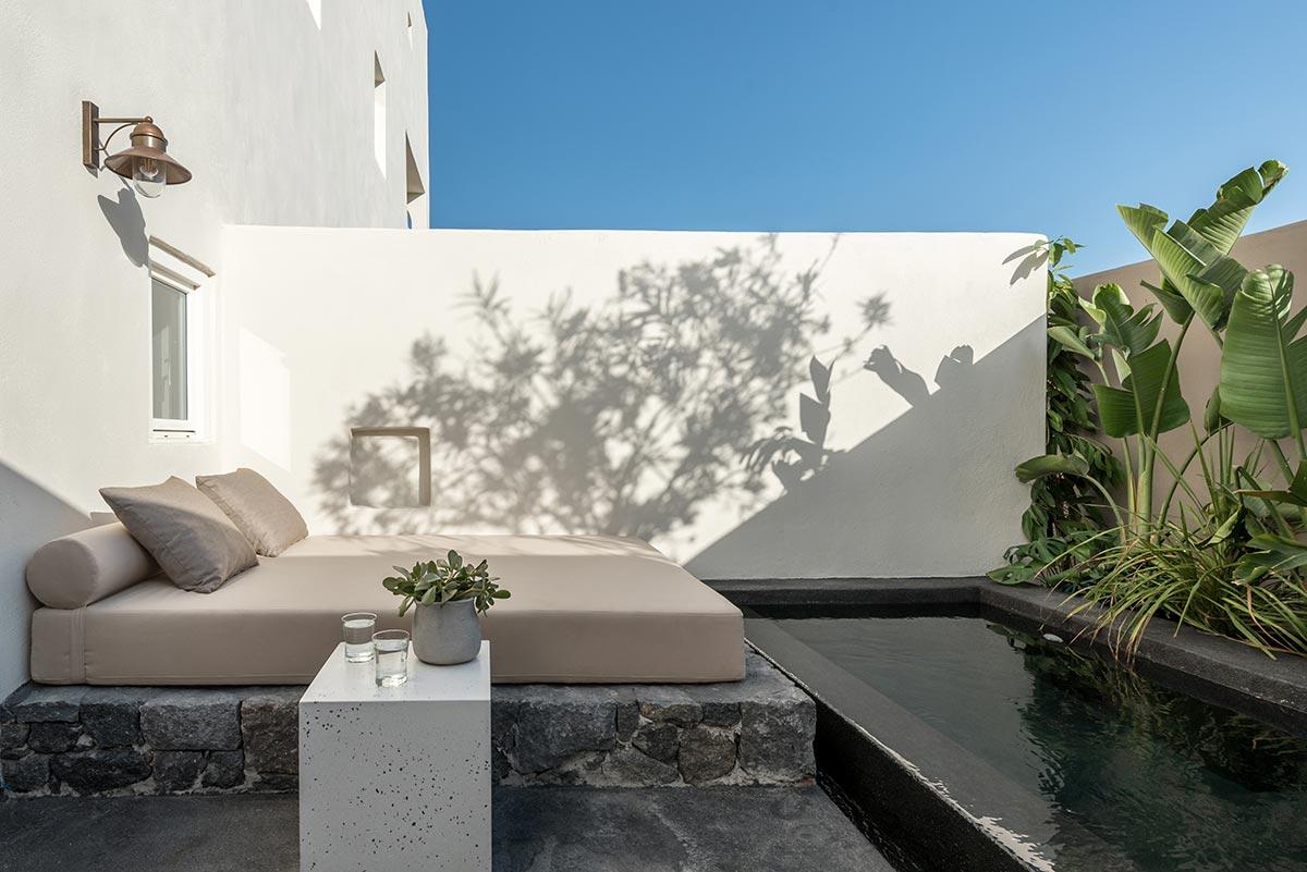boutique hotel santorini istoria pool - Istoria Hotel Santorini