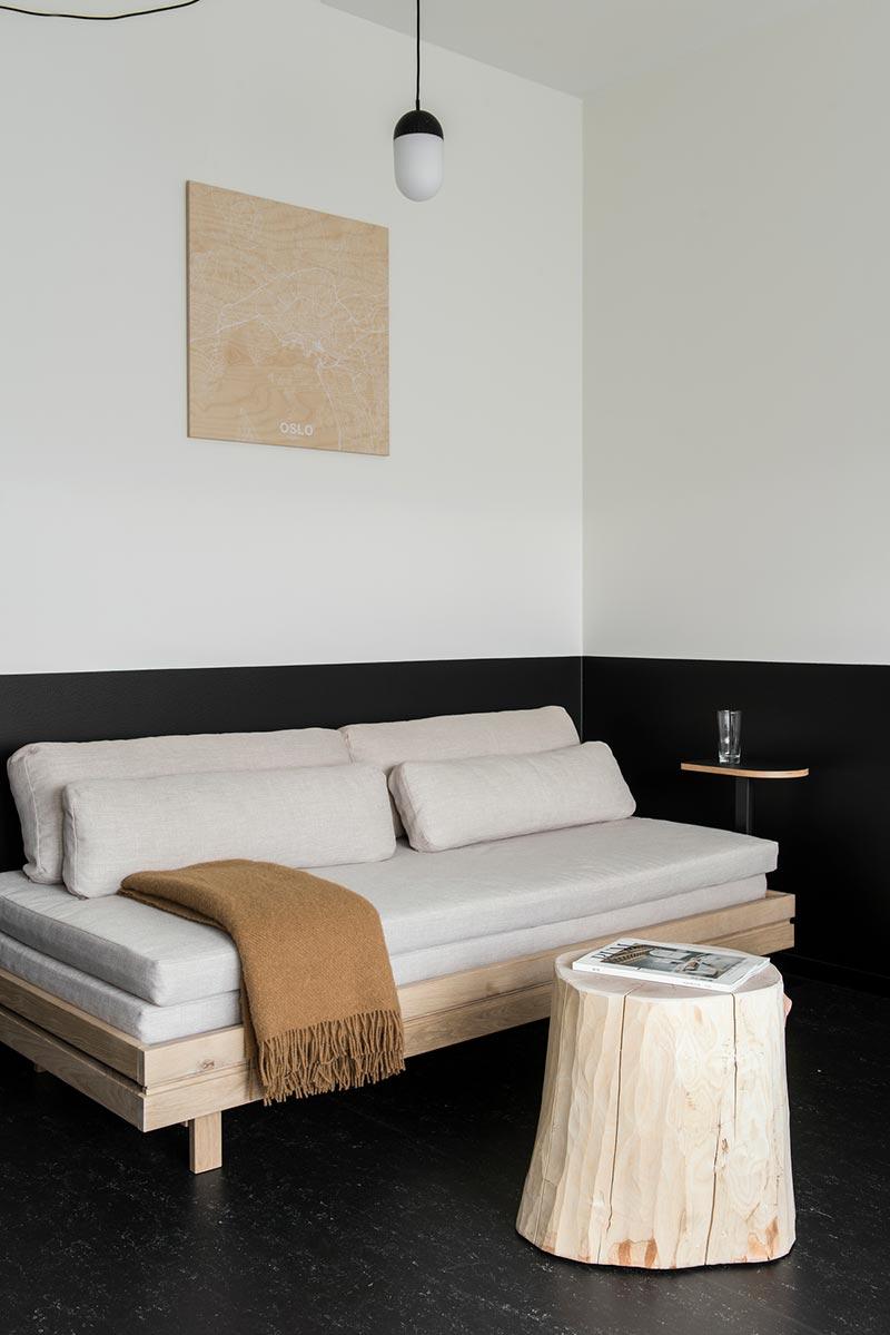 boutique hotel sofa design oslo - Aparthotel Oslo