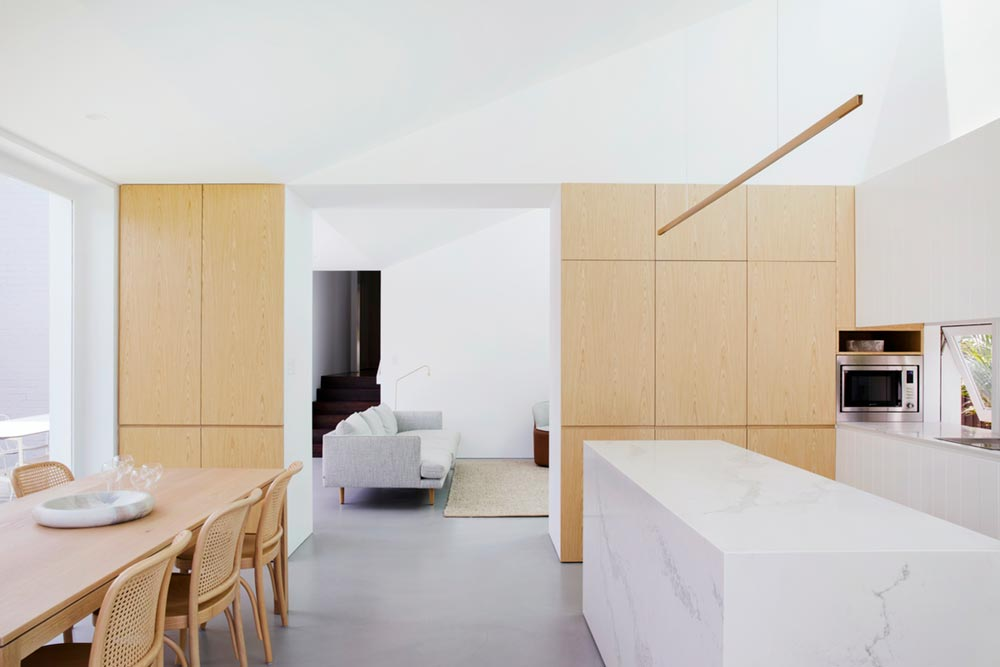 brick home extension kitchen design jl - Nat's House