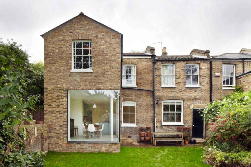brick townhouse extension cc1 800x533 - The Vegetarian Cottage