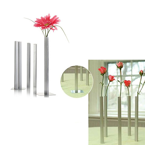 Magnetic Bud Vases Standing Out Art Decor