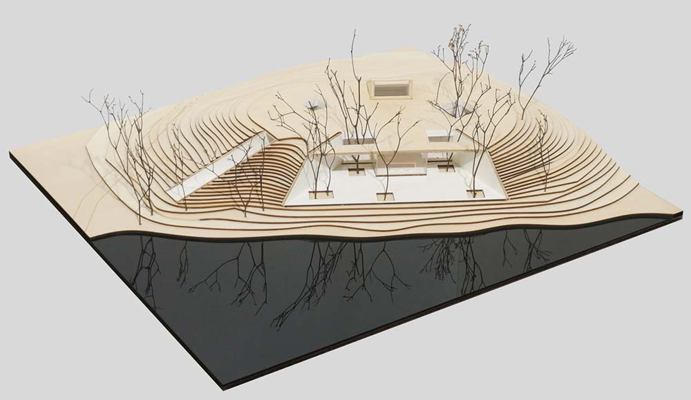 buddhist shrine design plan - Waterside Buddhist Shrine