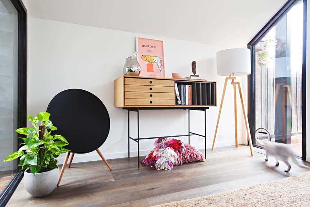 bureau nook design - Perched House Extension