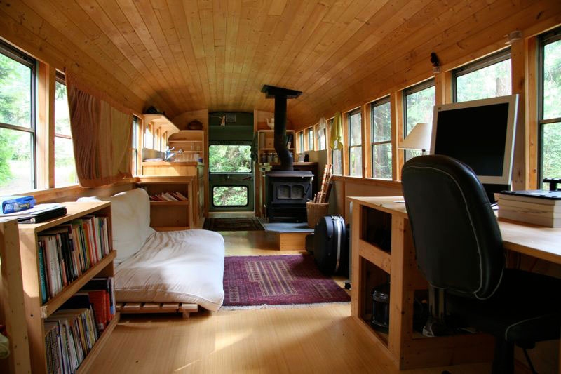 bus converted home - School Bus Converted Home
