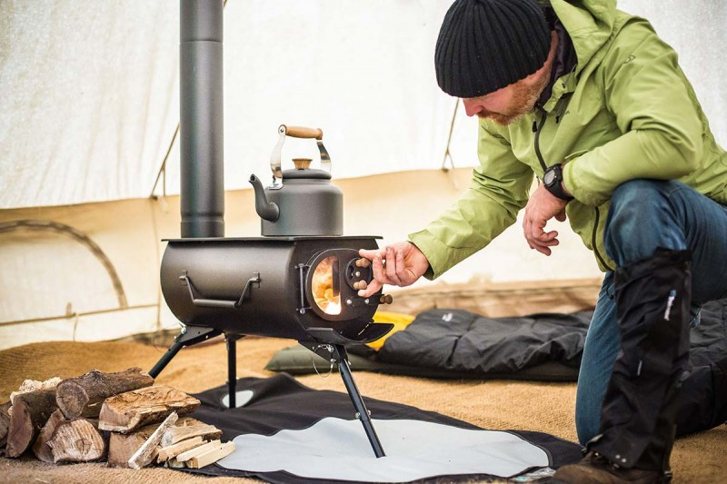 Frontier Plus Wood Stove