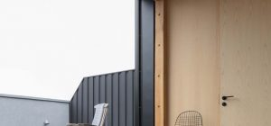 canal side family home terrace 300x140 - London Canal-Side Home Conversion