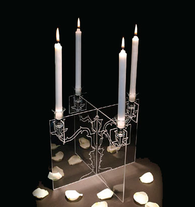 candle holder ghost - Ghost Candelabra