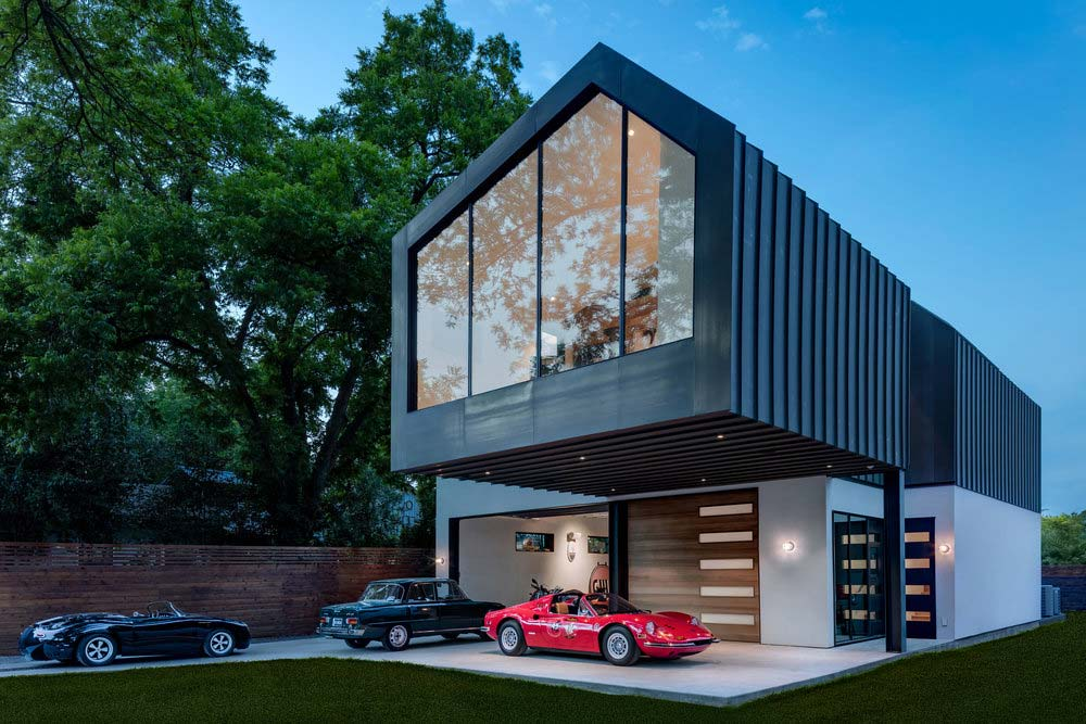 car collector house design mfa - Autohaus