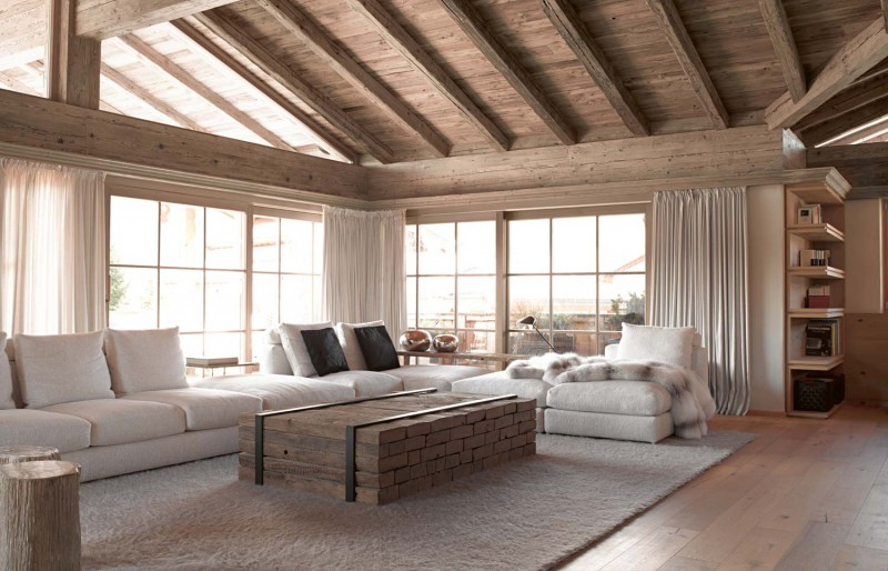 Charming French Country Modern Living Room