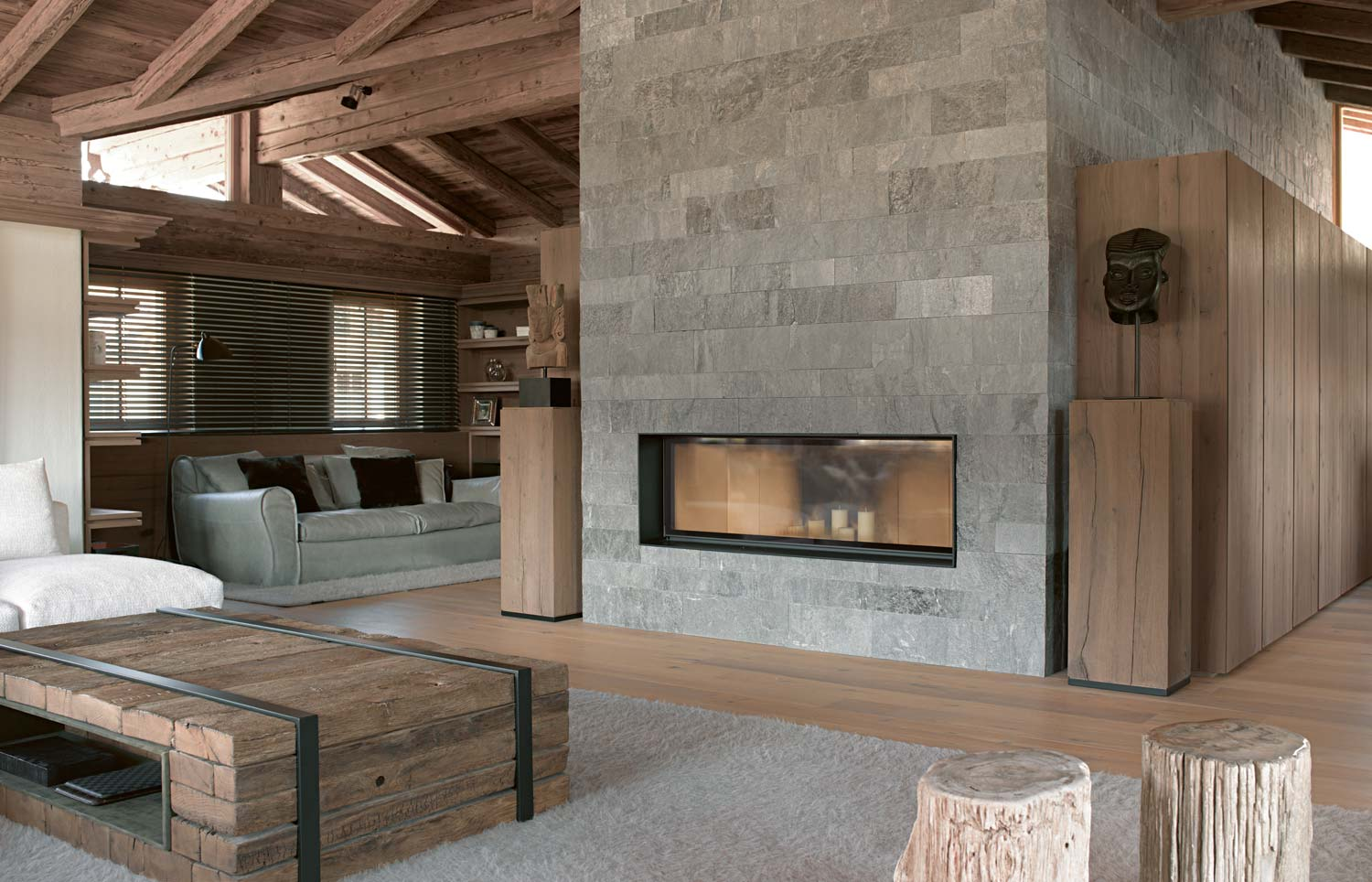 Thurnbichlweg chalet beautiful interiors modern cabins for Interior design osterreich