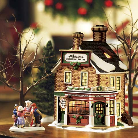 christmas decor bakery - Department 56: Christmas Decorating: Ho Ho Ho!