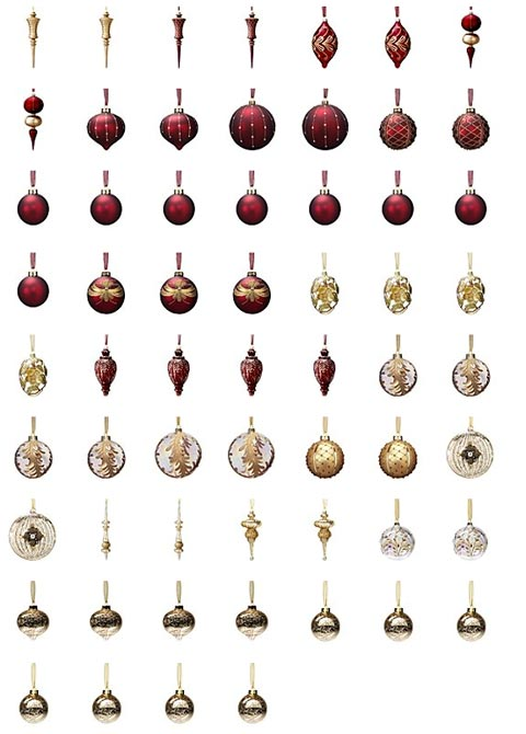 portofino christmas ornament collection  sumptuous decor