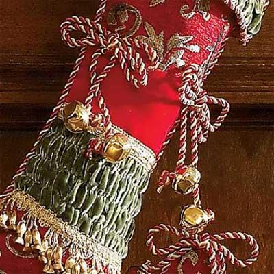 christmas stockings jnglbl2 - Jingle Bell Christmas Stockings: Jingle Jangle