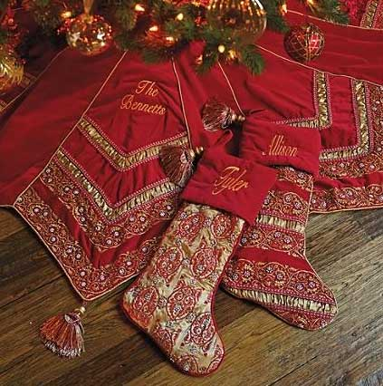 Portofino Christmas Ornament Collection Sumptuous Decor