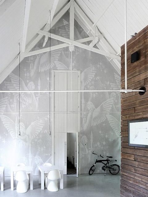 church conversion in the netherlands: cheeky chapel - loft design
