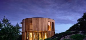 circular beach house design ama 300x140 - St Andrews Beach House