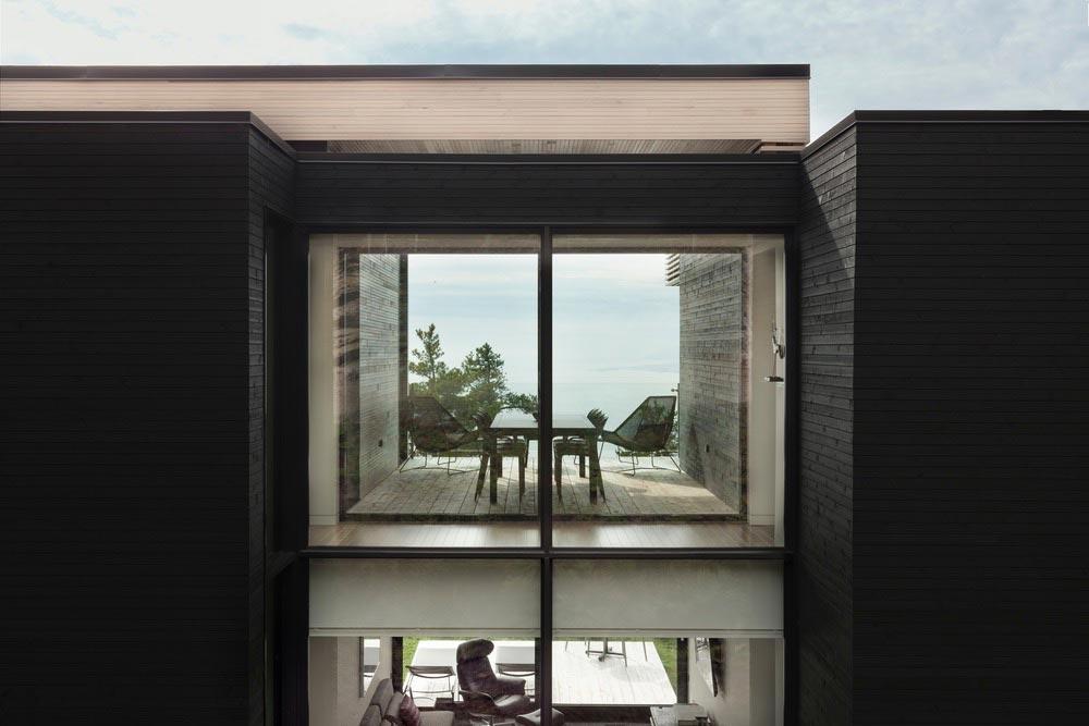 cliffside home living design aca - Residence Le Nid